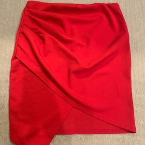 NWT wrap skirt with bandeau top